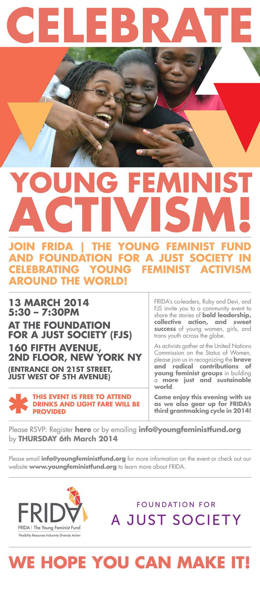 Young Feminist Activism event