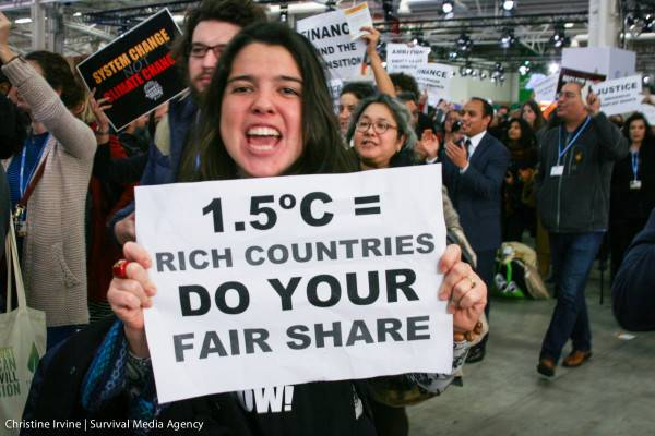 Women and Gender Constituency at the UNFCCC in Paris, France December 3, 2015