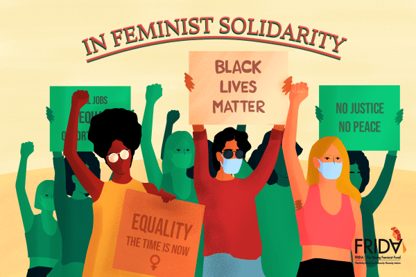 Dedicate your donation in feminist solidarity